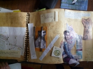 NC ECW3348 7161-12 assessment 204 work in progress sketchbook page