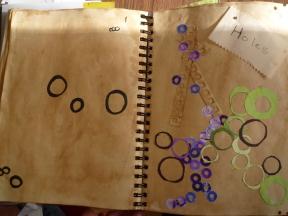 NC ECW 3348 7161-12 assessment 204 work in progress sketchbook page