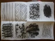 HM ECW4039 7161-12 Design Unit 201 sketchbook Mark making