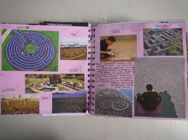 PS WVJ1448 7112-12 assessment 210 sketchbook page