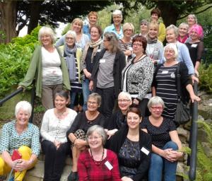 TSG plus visitors at our weekend workshop